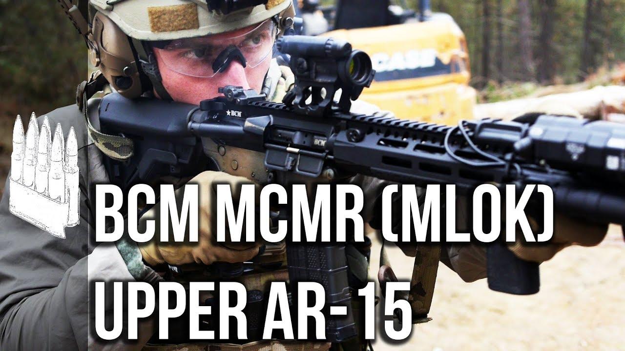 BCM MCMR (MLOK) Upper receiver AR-15