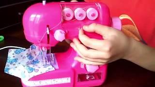 Детская швейная машинка. Открываем с вами(Обзор моих любимых игрушек. Швейная машинка одна из моих любимых. Thanks for watching my video! Спасибо, что смотрите..., 2015-10-14T21:22:30.000Z)