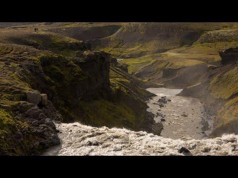 Fimmvörðuháls Pass hike from Skógar