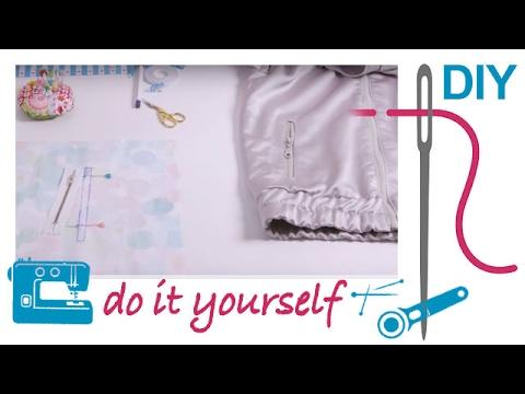 Nählexikon von A–Z –  Tasche mit RV – Nähen lernen mit Zierstoff