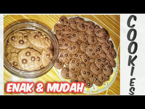 RESEP CHOCOCHIPS COOKIES ENAK & MUDAH - YouTube