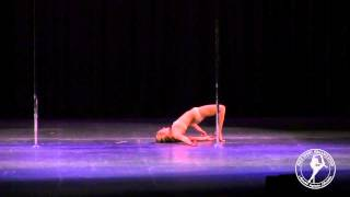 2015 U.S. National Pole Art Champion - Irmingard Mayer