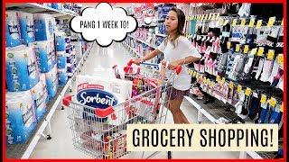 MAGKANO ANG 1 WEEK NA GROCERY SA AUSTRALIA? + GROCERY HAUL (VLOGMAS DAY 16) ❤️ | rhazevlogs