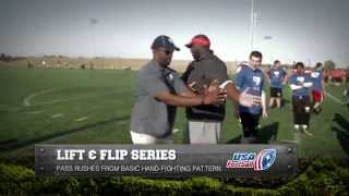 Defensive Line: Lift and Flip Series
