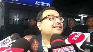 Kunal Ghosh reaction after CBI interrogation at Shillong.