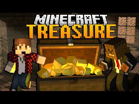 Minecraft TREASURE HUNT Adventure Map w/ BajanCanadian & JeromeASF