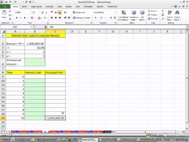 simple interest amortization table excel image picture info free