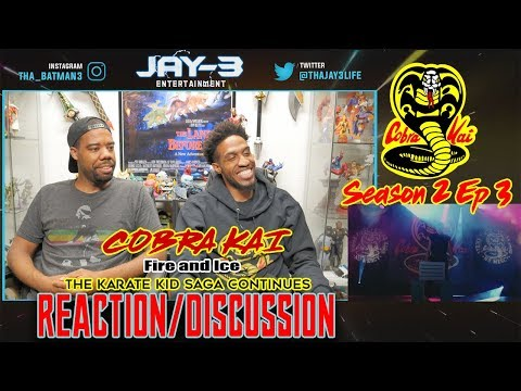 COBRA KAI Season 2 Ep 3-Fire and Ice- The Karate Kid Saga Continues Reaction/Discussion