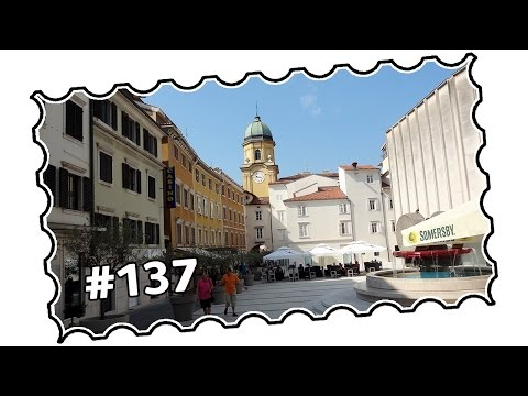 #137 - Croatia, Rijeka - From Bivio to Korzo, city centre (07/2015)