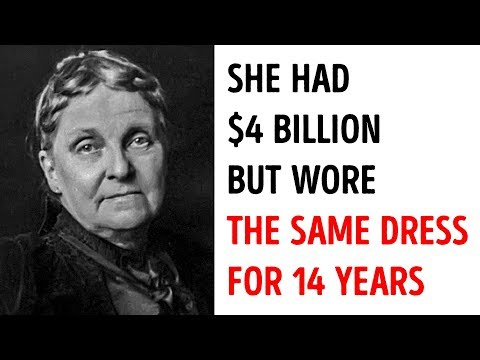 The Richest Woman In America Lived On $5 a Week And Only Had One Dress