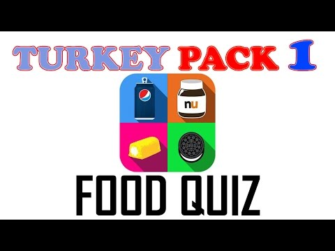 Food Quiz Pack 1 ( TURKEY ) - All Answers - Walkthrough ( By Taplane INC )