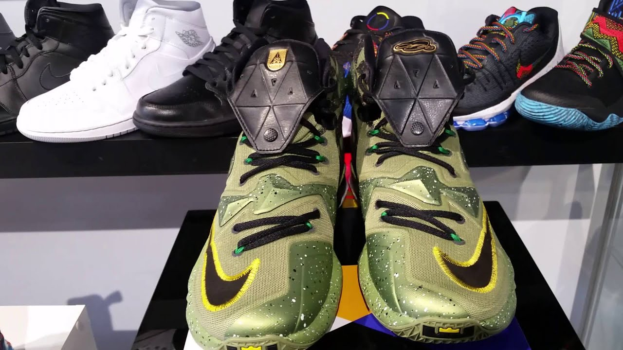 Nike Star Lebron Xiii All Star Nike zapatilla Review Youtube 2016 62d730