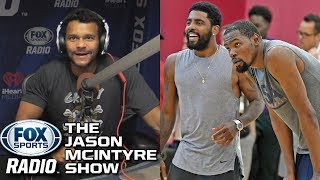 Jason McIntyre - How Could Kevin Durant Choose Kyrie Irving Over Steph and Kawhi?