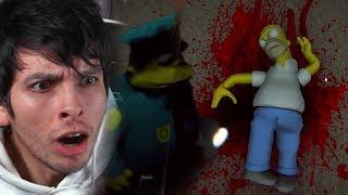 NUEVO CAPÍTULO: LOS SIMPSON CREEPY REGRESAN !! - Eggs For Bart (Horror Game)   DeGoBooM