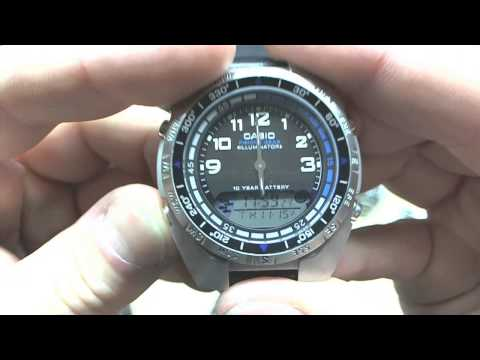 Casio Fishing Gear (Stainless) -Rtime Review