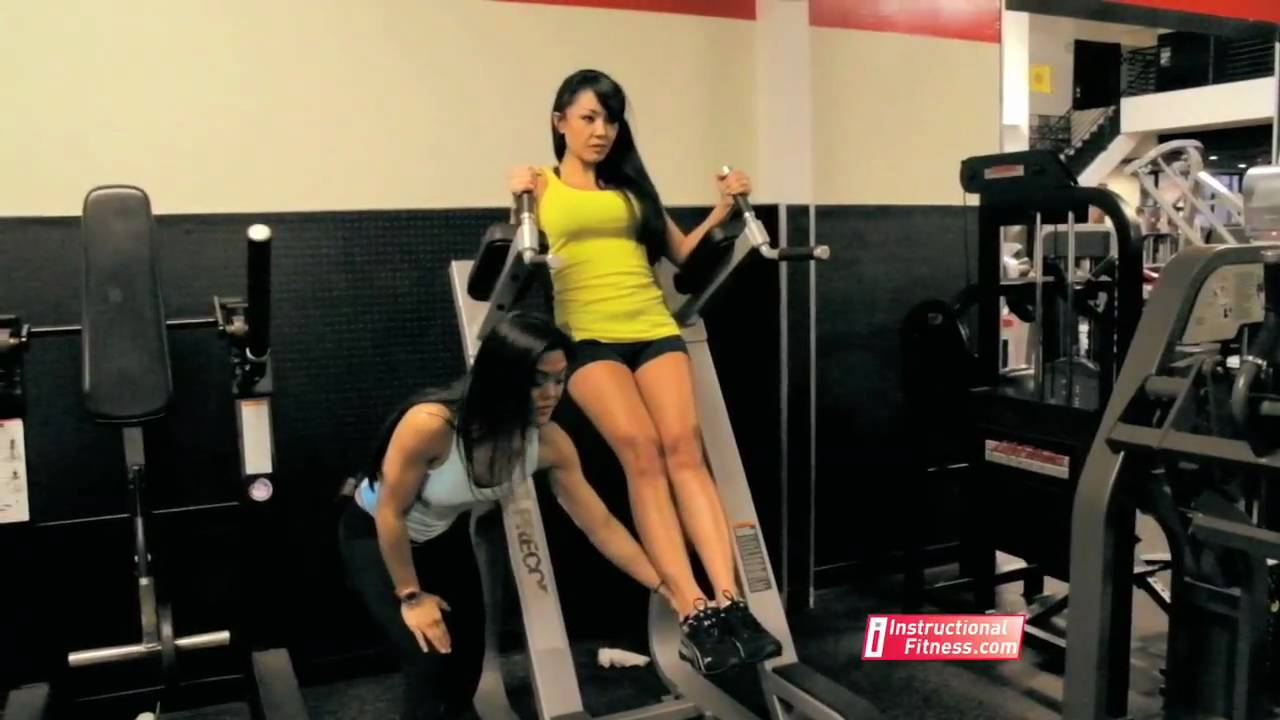 gym in a chair how to hang hammock indoors without drilling lower abs on the roman - youtube