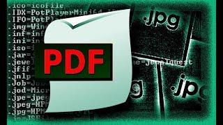 Как изменить формат JPG на PDF