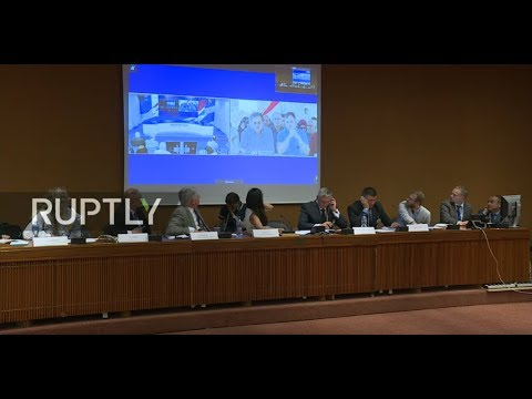 LIVE: Russian Mission to UN in Geneva holds briefing on Aleppo