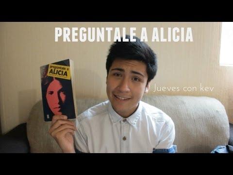 PREGUNTALE A ALICIA | booktubeMexico #BookJueves