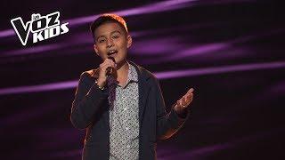 Jhaner canta Obsesión - Audiciones a ciegas | La Voz Kids Colombia 2018