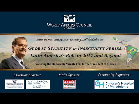 Global Stability & Insecurity Series: Latin America's Role in 2017 and Beyond