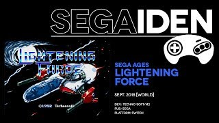 SEGA Ages: Lightening Force overview: Styx and stones   SEGAiden #02