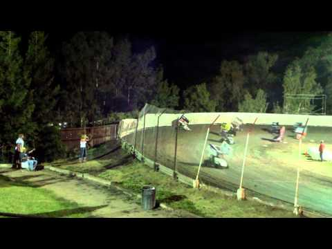Steel Powell  00 at Cycleland Speedway 09-20-14