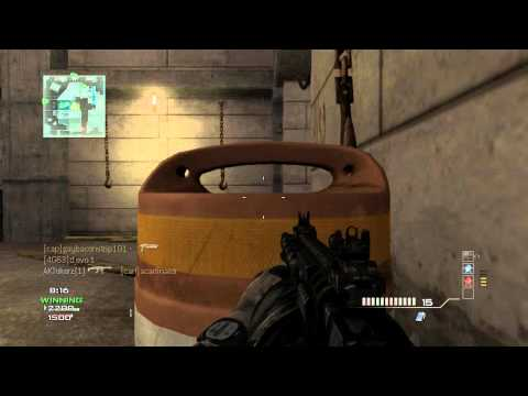 Falling Like Dominos - MW3 Game Clip