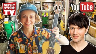 Music Store Live - Q&A Ukulelen mit Jule & Alex