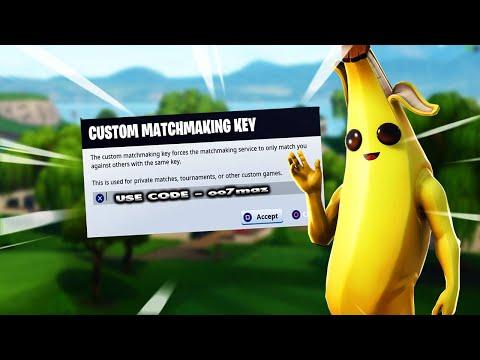 custom matchmaking codes to use