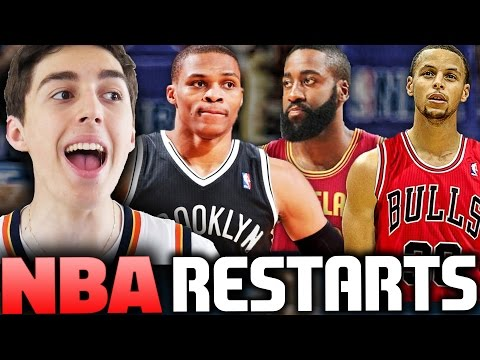 WHAT IF THE NBA RESTARTED AND HAD A FANTASY DRAFT? NBA 2K16 MY LEAGUE