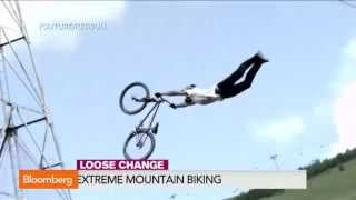 Watch: Super Slo-Mo Extreme Mountain Biking