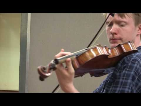 Eivind Holtsmark Ringstad plays Vieuxtemps