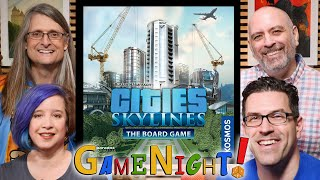 Cities: Skylines – The Board Game - GameNight! Se8 Ep22