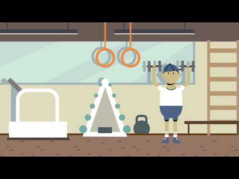 Социальный видеоролик на тему Здоровый образ жизни, здравоохранение. Инфографика  | РосВидео