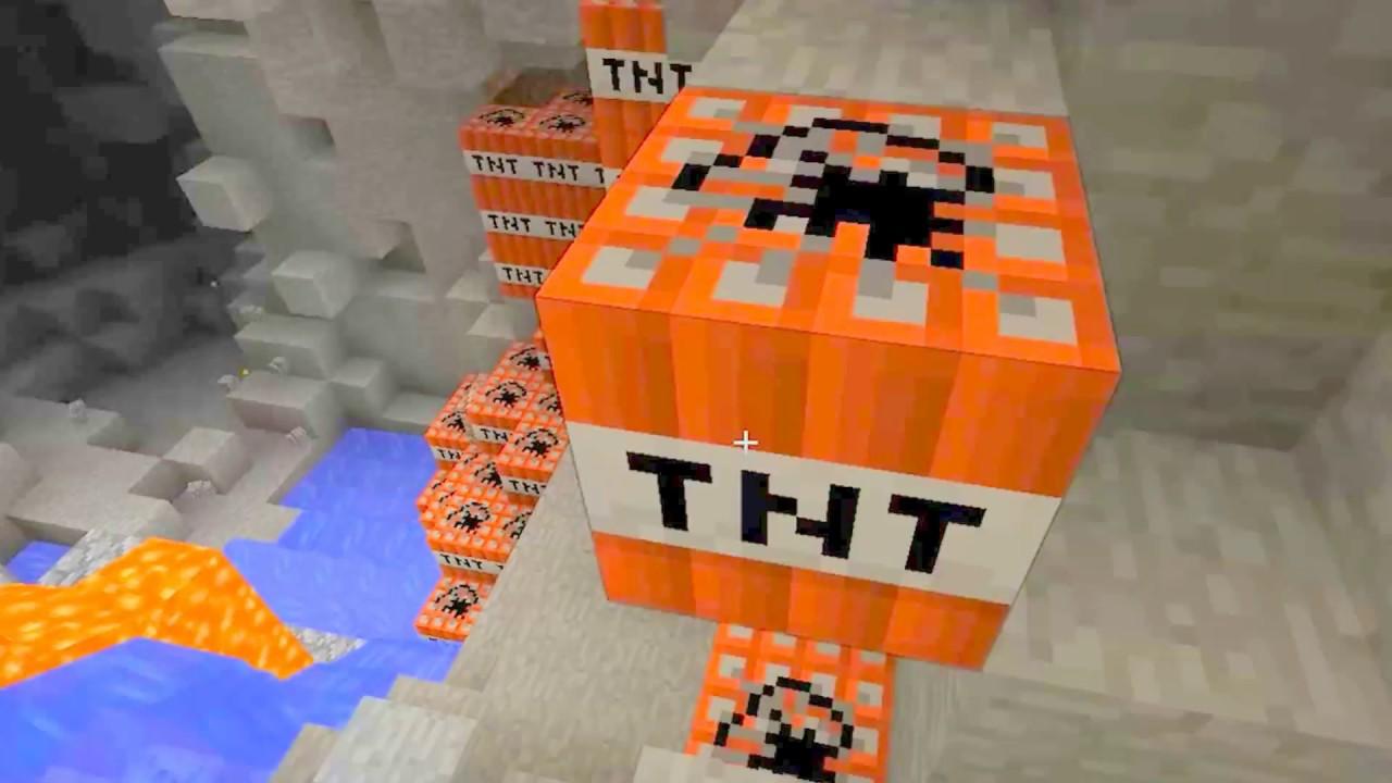 MINECRAFT UNDERGROUND EXPLOSIONS!! HD minecraft tnt ...
