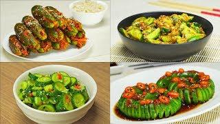4 быстрых и вкусных рецепта огурцов в азиатском стиле. Рецепт от Всегда Вкусно!