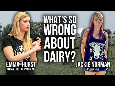 Ex-Dairy Farmer Turned Animal Advocate