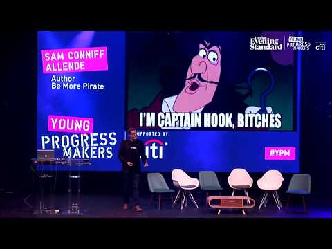 BE MORE PIRATE  by Sam Conniff Allende @ Evening Standard & Livity's Young Progress Makers
