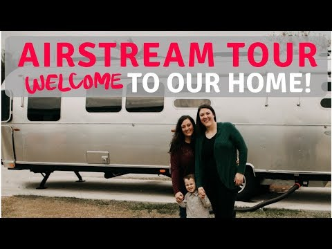 Airstream Tour - Welcome to our Home!