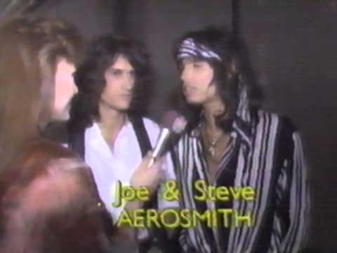 Aerosmith RARE 1990 - Joe Perry & Steven Tyler