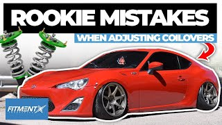 Rookie Mistakes Adjusting Your Coilovers