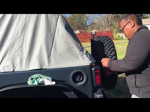 3214fde3687 Bestop all weather trail cover - YouTube