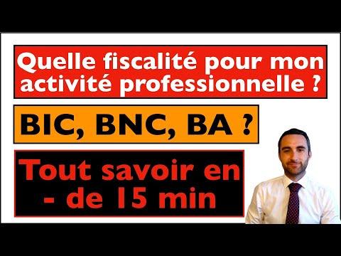 Download FISCALITE - REGIME D'IMPOSITION DES BENEFICES PROFESSIONNELS : DIFFERENCES ENTRE BIC, BNC, BA