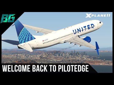 Welcome Back To Pilotedge (KSAN-KLAS)   XP11