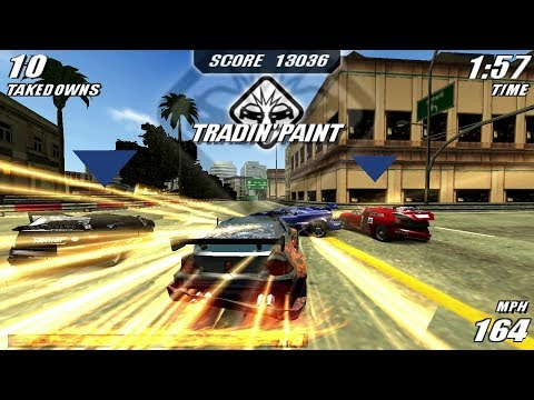 Burnout Legends PSP Gameplay HD (PPSSPP)