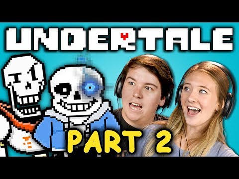 CUTEST DOGS EVER? | UNDERTALE - Part 2 (React: Let's Plays)