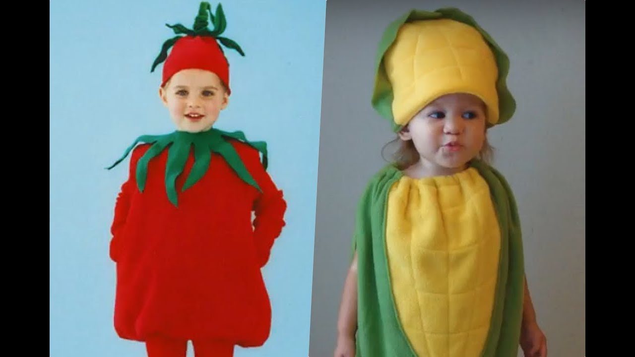 Disfraz De Vegetales Para Niños