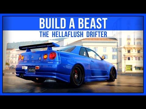 Forza Horizon 2 - Build A Beast - The HellaFlush Drifter