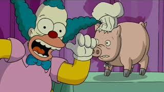 The Simpsons Movie   Burger Scene